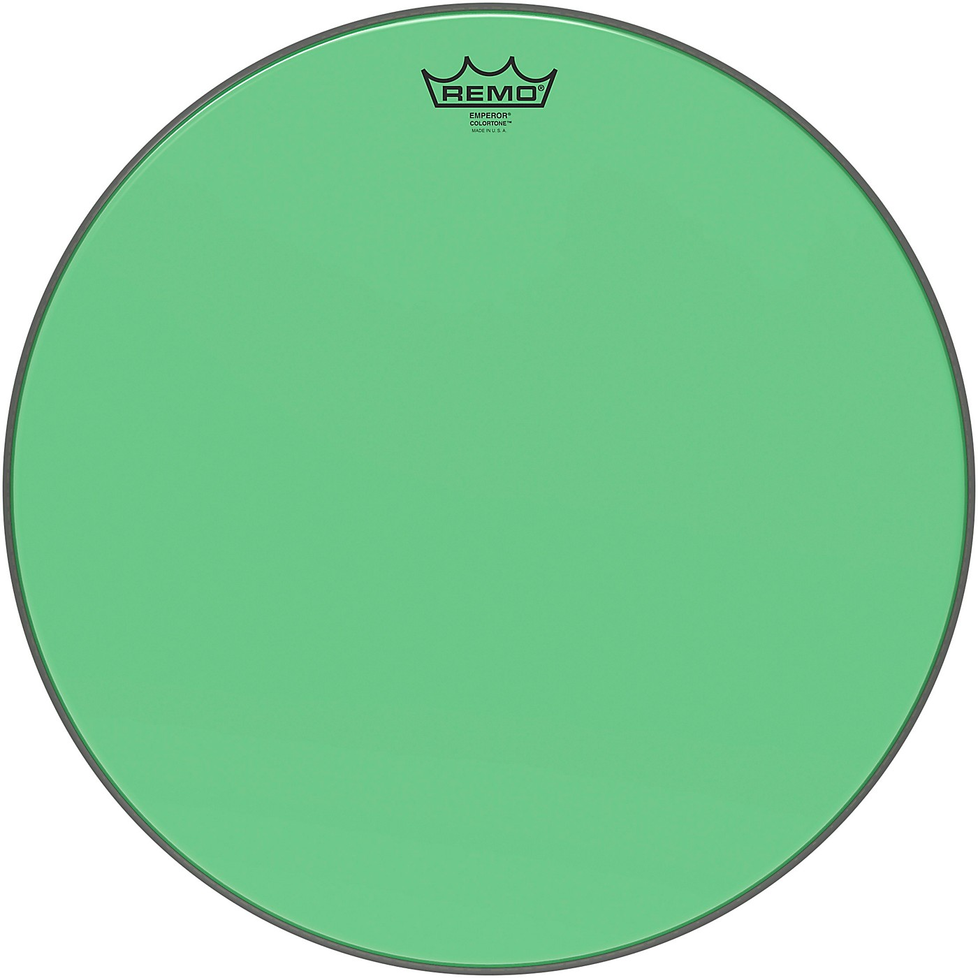 Remo Emperor Colortone Green Drum Head thumbnail