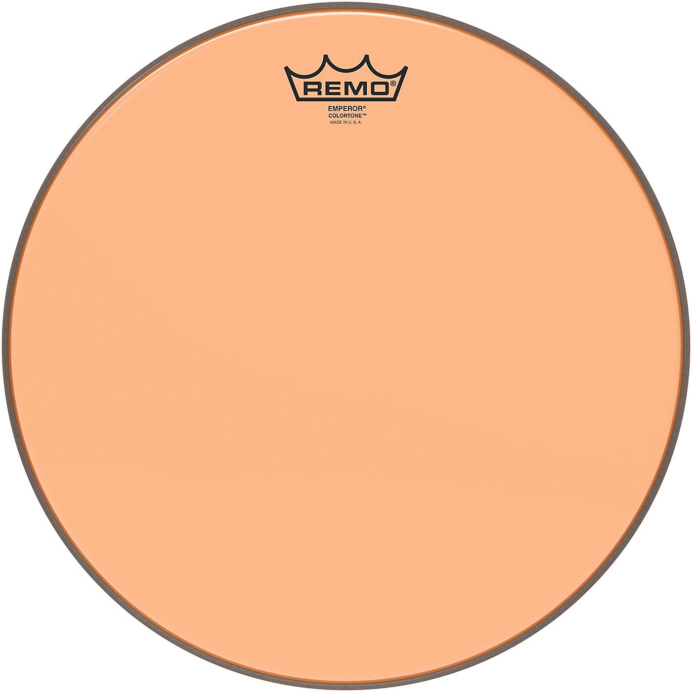 Remo Emperor Colortone Orange Drum Head thumbnail