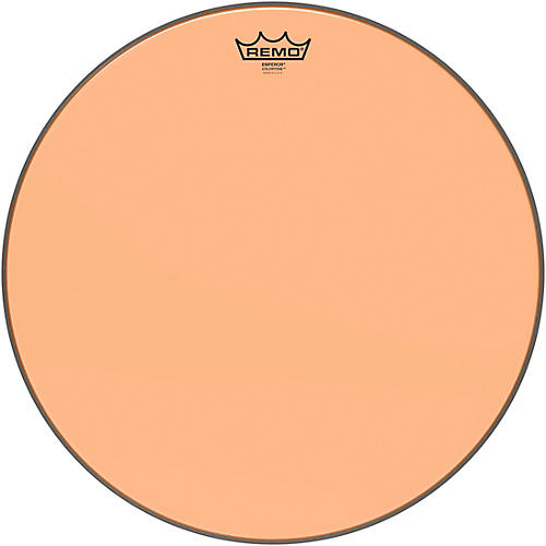 Remo Emperor Colortone Orange Drum Head thumbnail