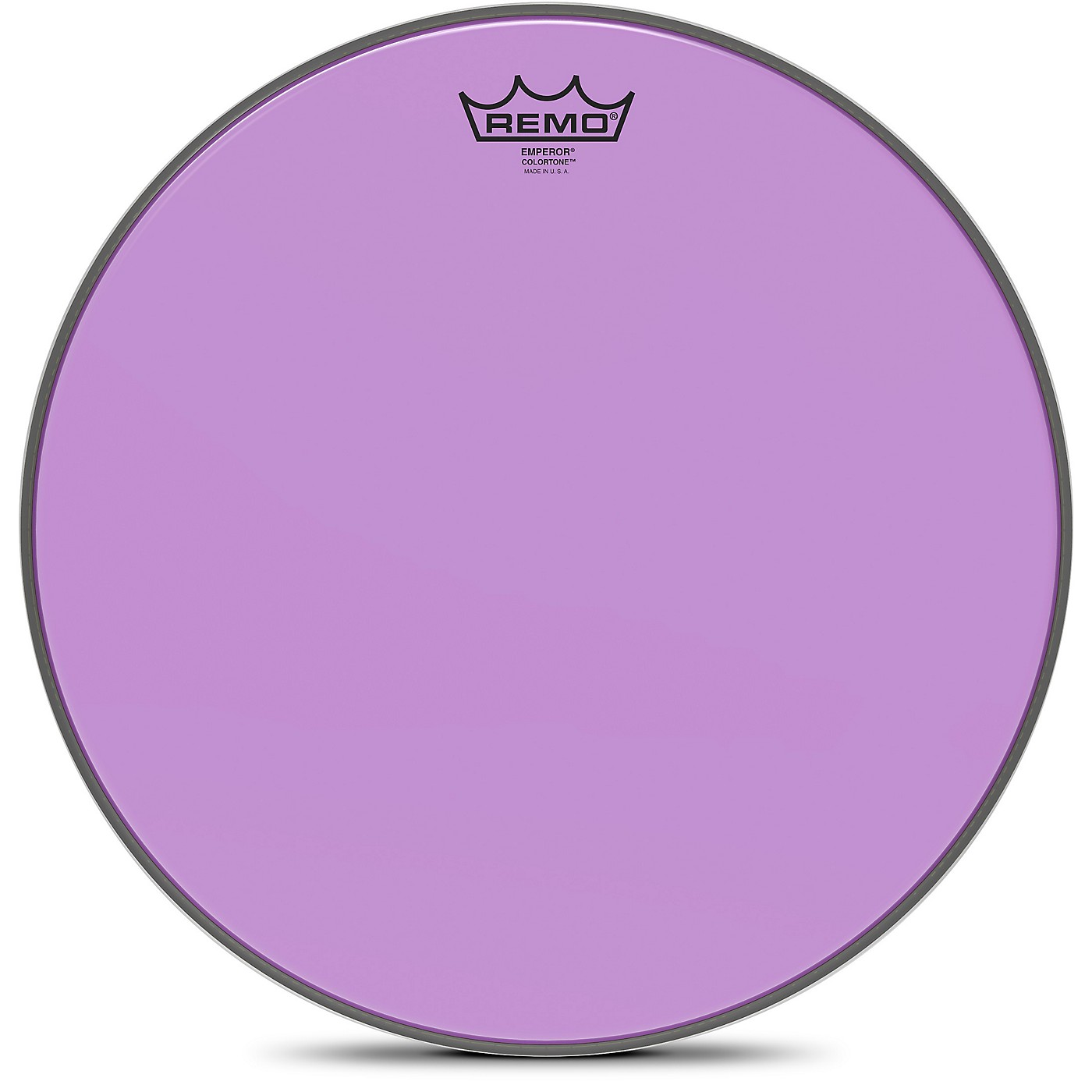 Remo Emperor Colortone Purple Drum Head thumbnail