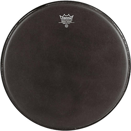 Remo Emperor Ebony Suede Marching Bass Drumhead thumbnail
