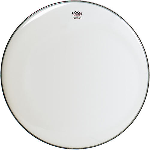 Remo Emperor Smooth White Bass Drum Head thumbnail