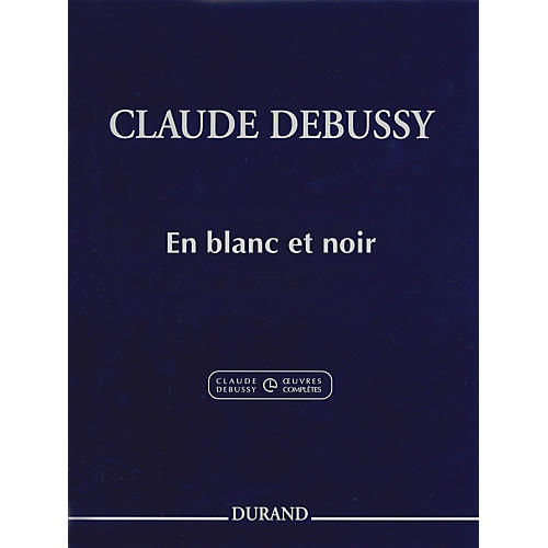 Editions Durand En blanc et noir Editions Durand Series Softcover thumbnail