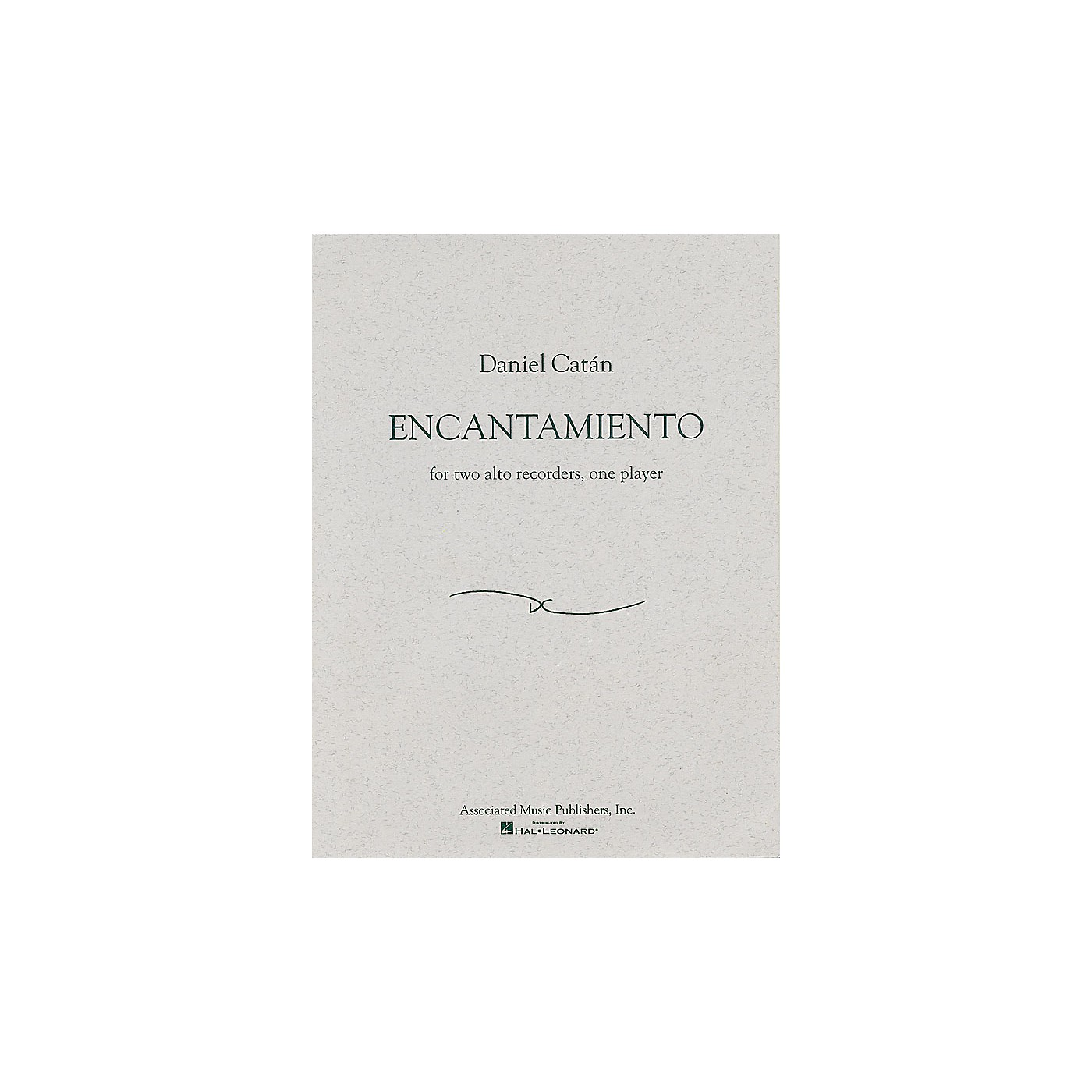 Associated Encantamiento (for Two Alto Recorders, One Player) Woodwind Series thumbnail