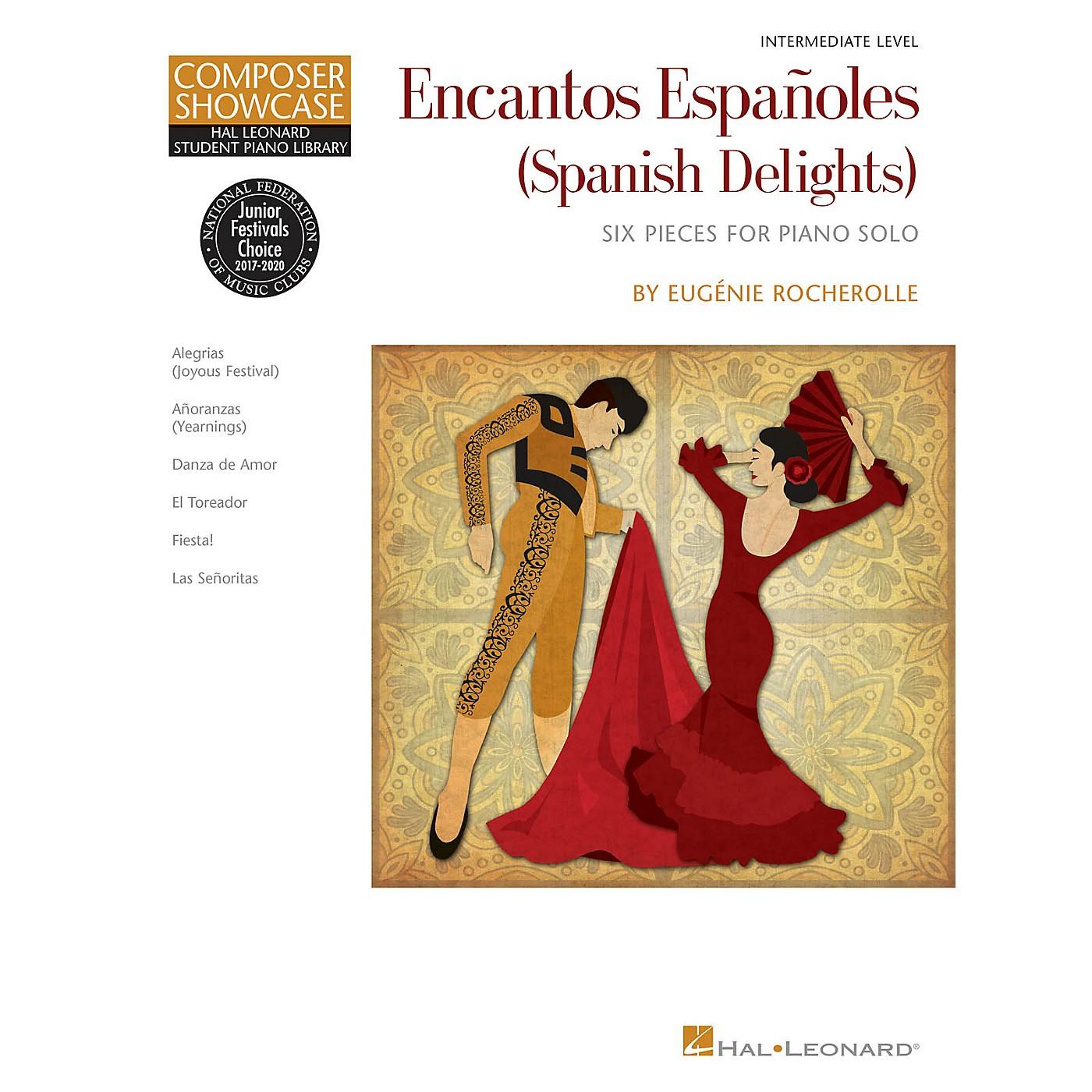 Hal Leonard Encantos Españoles (Spanish Delights) Piano Library Series Book by Eugénie Rocherolle (Intermediate) thumbnail