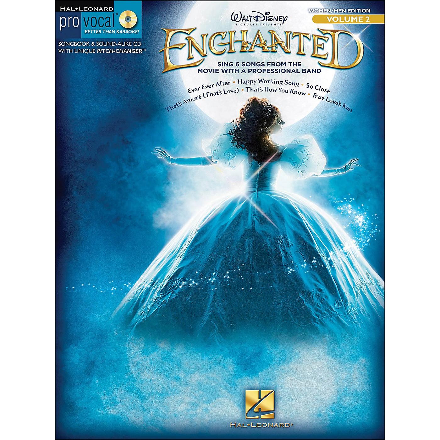Hal Leonard Enchanted - Pro Vocal Songbook & CD for Women/Men Volume 2 thumbnail