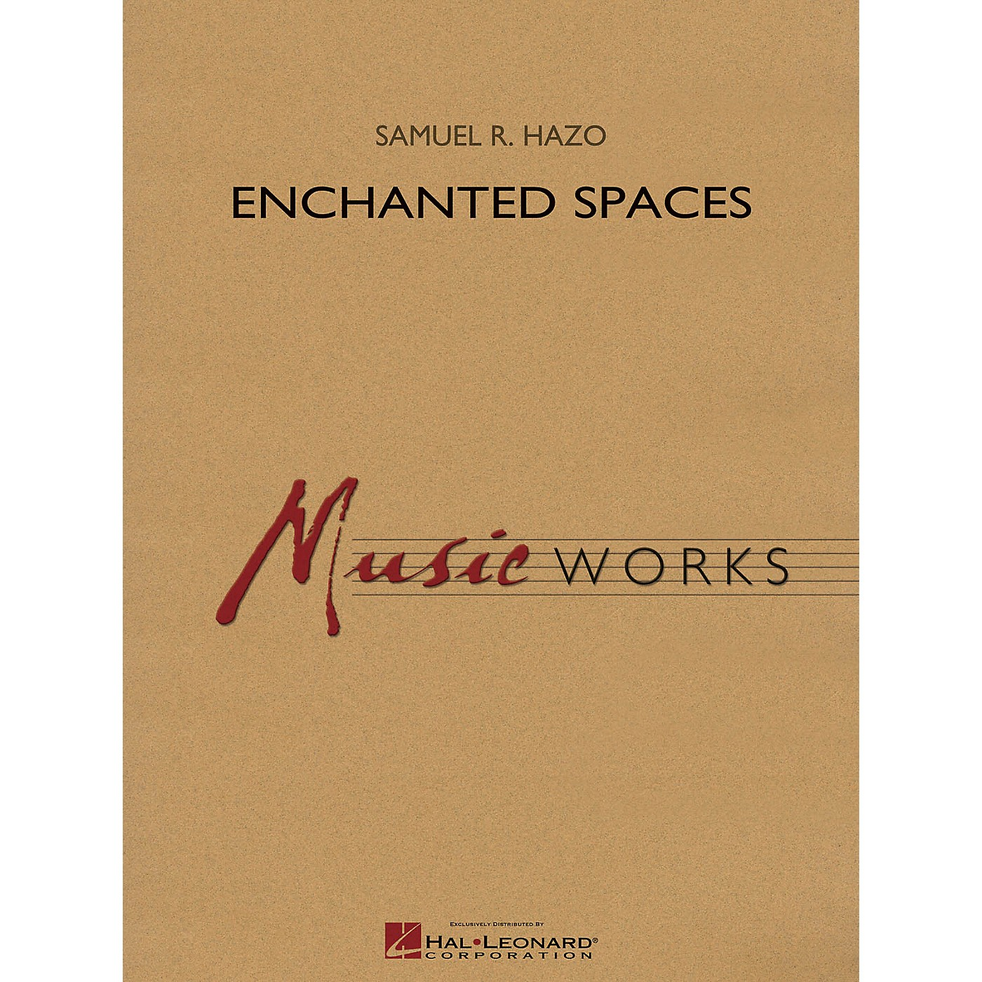 Hal Leonard Enchanted Spaces Concert Band Level 4 Composed by Samuel R. Hazo thumbnail
