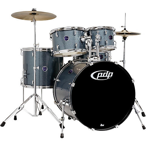 PDP by DW Encore 5-Piece Drum Kit with Hardware and Cymbals thumbnail