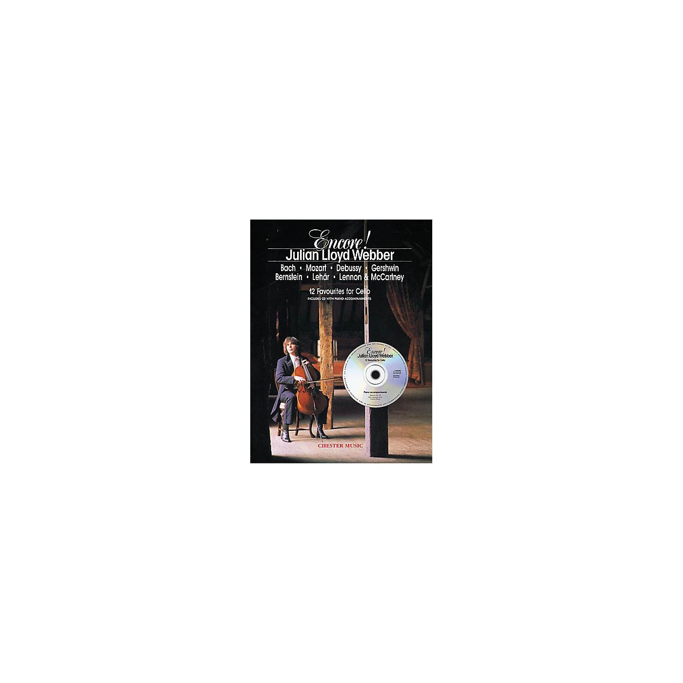 Chester Music Encore! (Cello and Piano) Music Sales America Series thumbnail