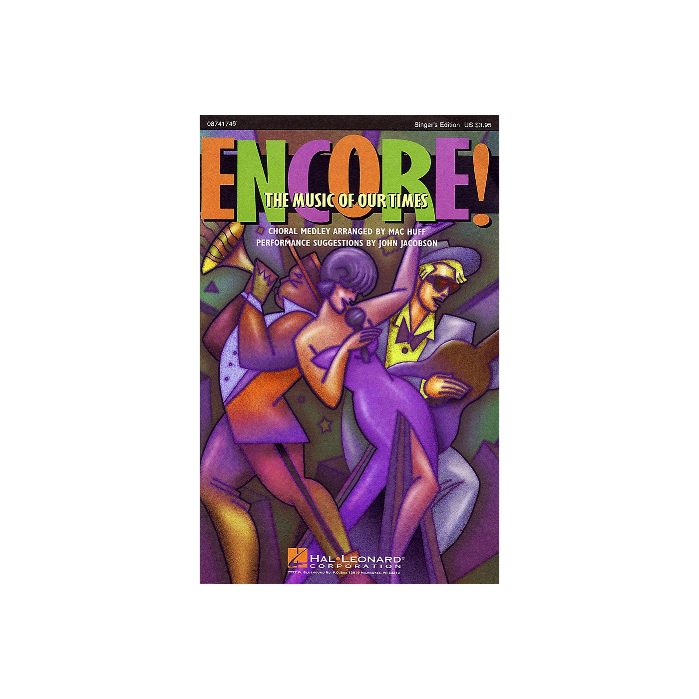 Hal Leonard Encore! The Music of Our Times (Medley) SATB Singer Arranged by Mac Huff thumbnail