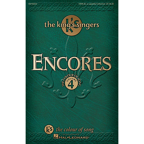 Hal Leonard Encores - The King's Singers Colour of Song, Volume 4 SATB DV A Cappella by The King's Singers thumbnail