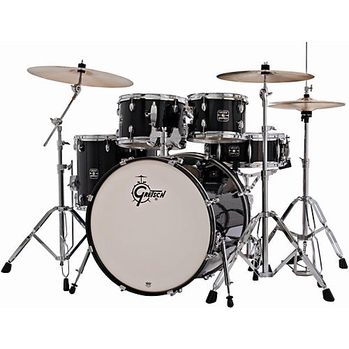 Gretsch Drums Energy 5-Piece Drum Set with Hardware and Sabian SBR Cymbal Pack thumbnail