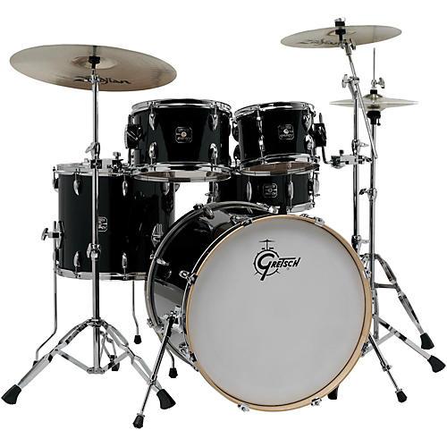 gretsch drums energy vb 5 piece drum set with zildjian cymbals woodwind brasswind. Black Bedroom Furniture Sets. Home Design Ideas