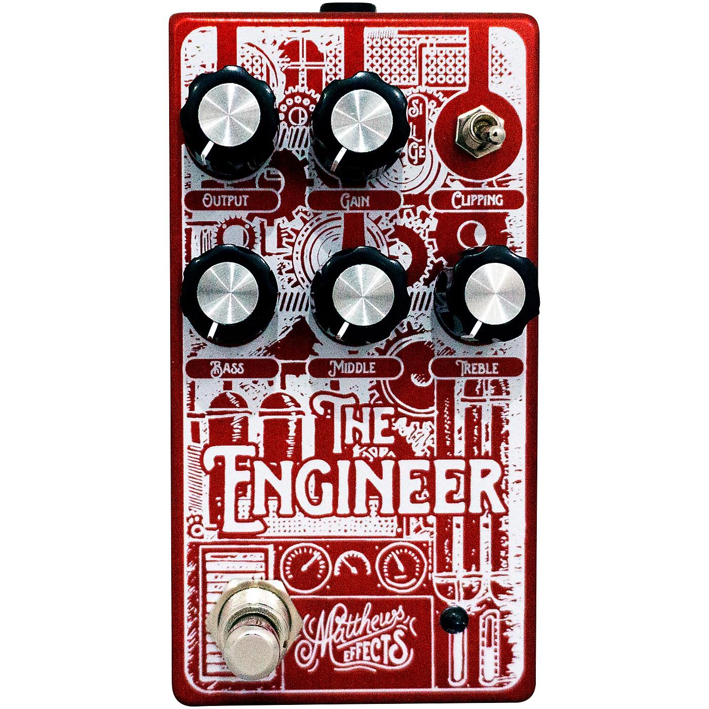 Matthews Effects Engineer Foundational Bass Overdrive Effects Pedal thumbnail