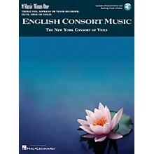 Music Minus One English Consort Music Music Minus One Series Softcover with CD  by Various