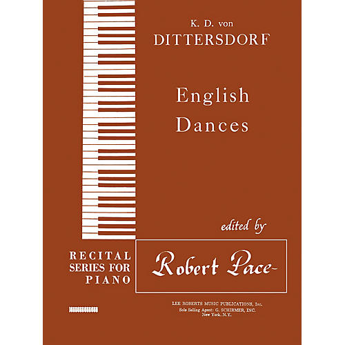 Lee Roberts English Dances Pace Piano Education Series Composed by Karl Ditters von Dittersdorf thumbnail