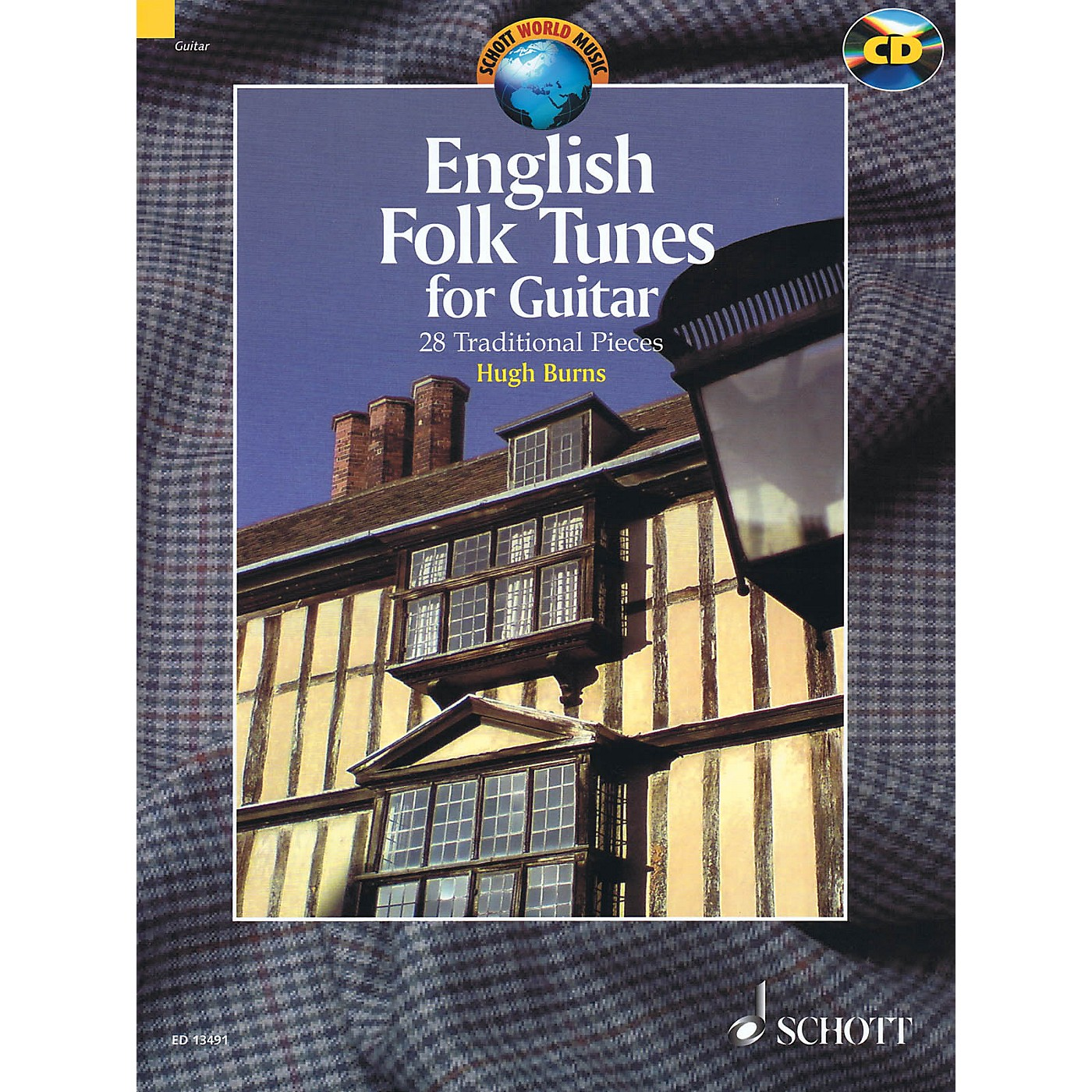 Schott English Folk Tunes for Guitar (28 Traditional Pieces) Guitar Series Softcover with CD thumbnail