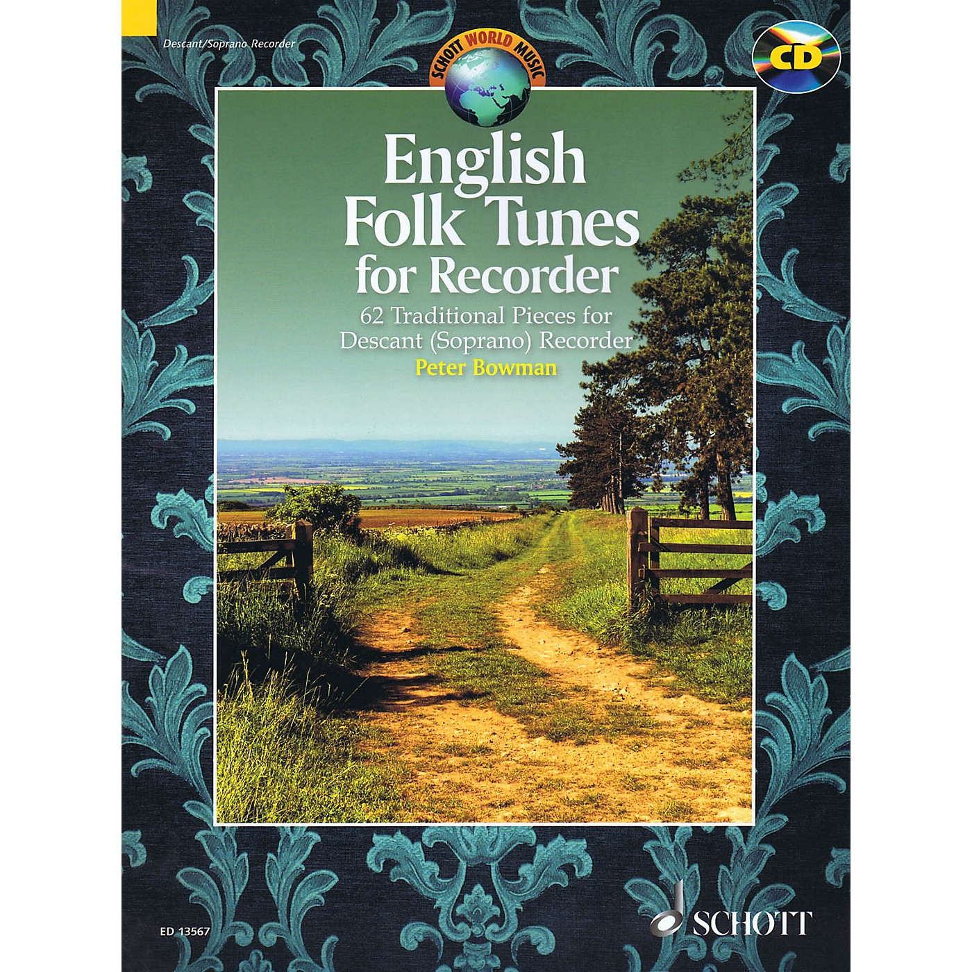 Schott English Folk Tunes for Recorder Woodwind Series Softcover with CD thumbnail