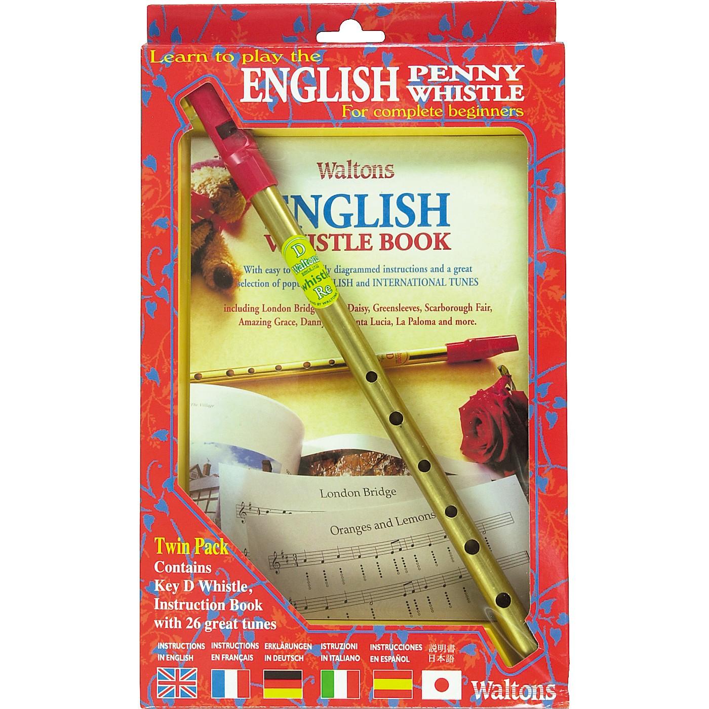 Waltons English Penny Whistle Value Pack thumbnail