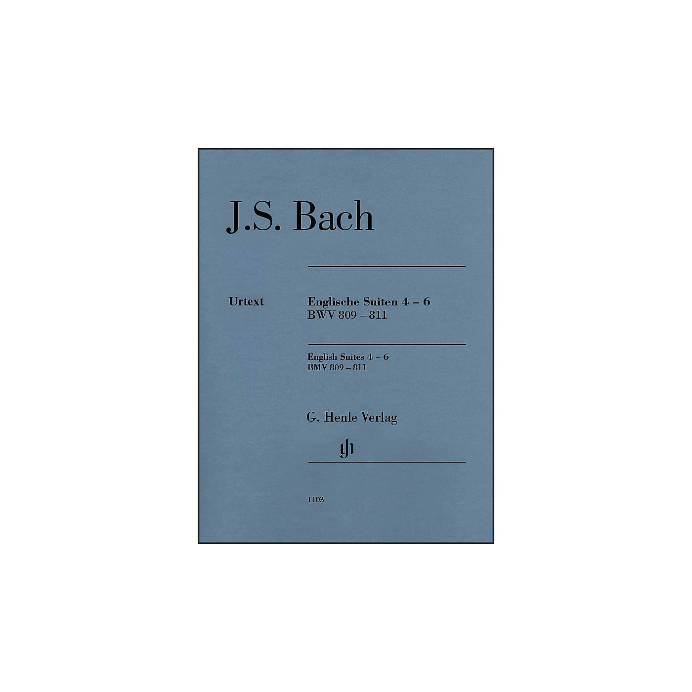 G. Henle Verlag English Suites 4-6 BWV 809-811 By Bach thumbnail