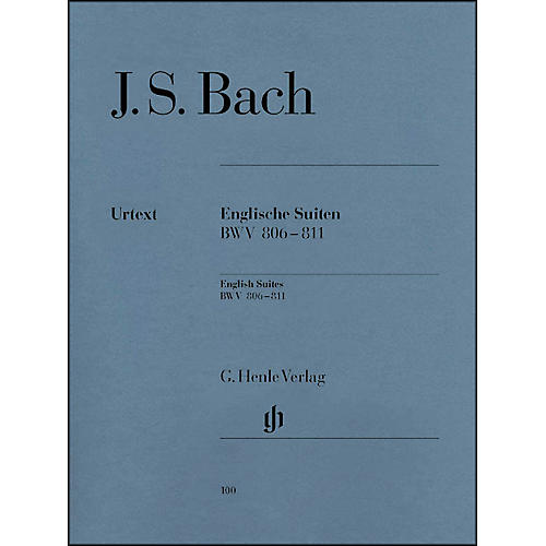 G. Henle Verlag English Suites BWV 806-811 By Bach thumbnail