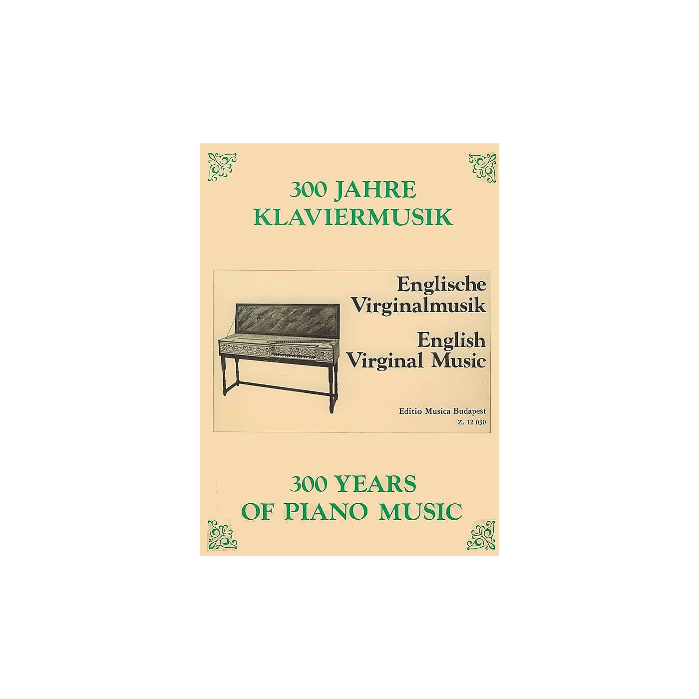 Editio Musica Budapest English Virginal Music EMB Series Composed by Various thumbnail