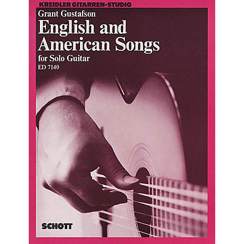 Schott English and American Songs for Solo Guitar Schott Series thumbnail