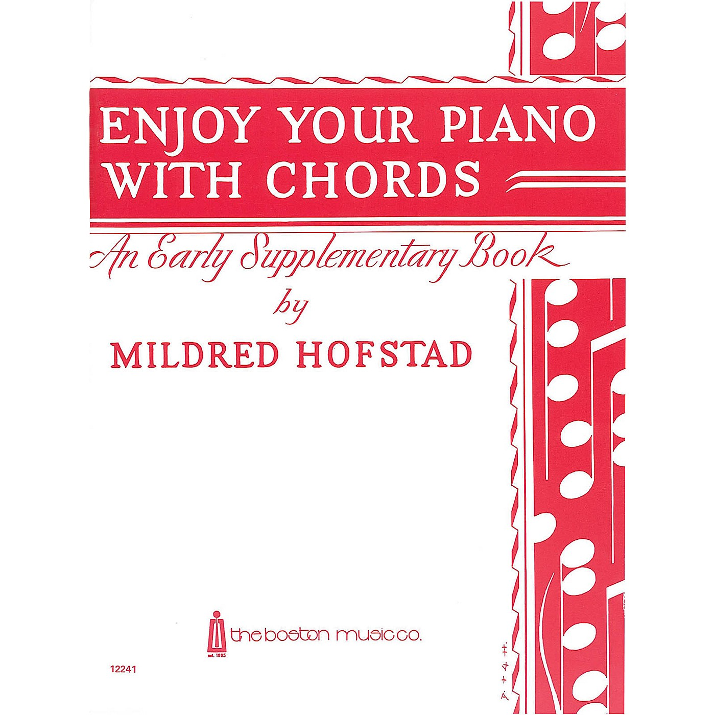 Music Sales Enjoy Your Piano with Chords Music Sales America Series thumbnail