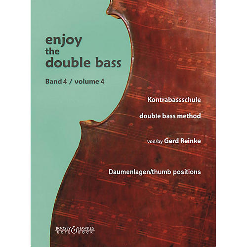 Bote & Bock Enjoy the Double Bass Series Softcover Written by Gerd Reinke thumbnail