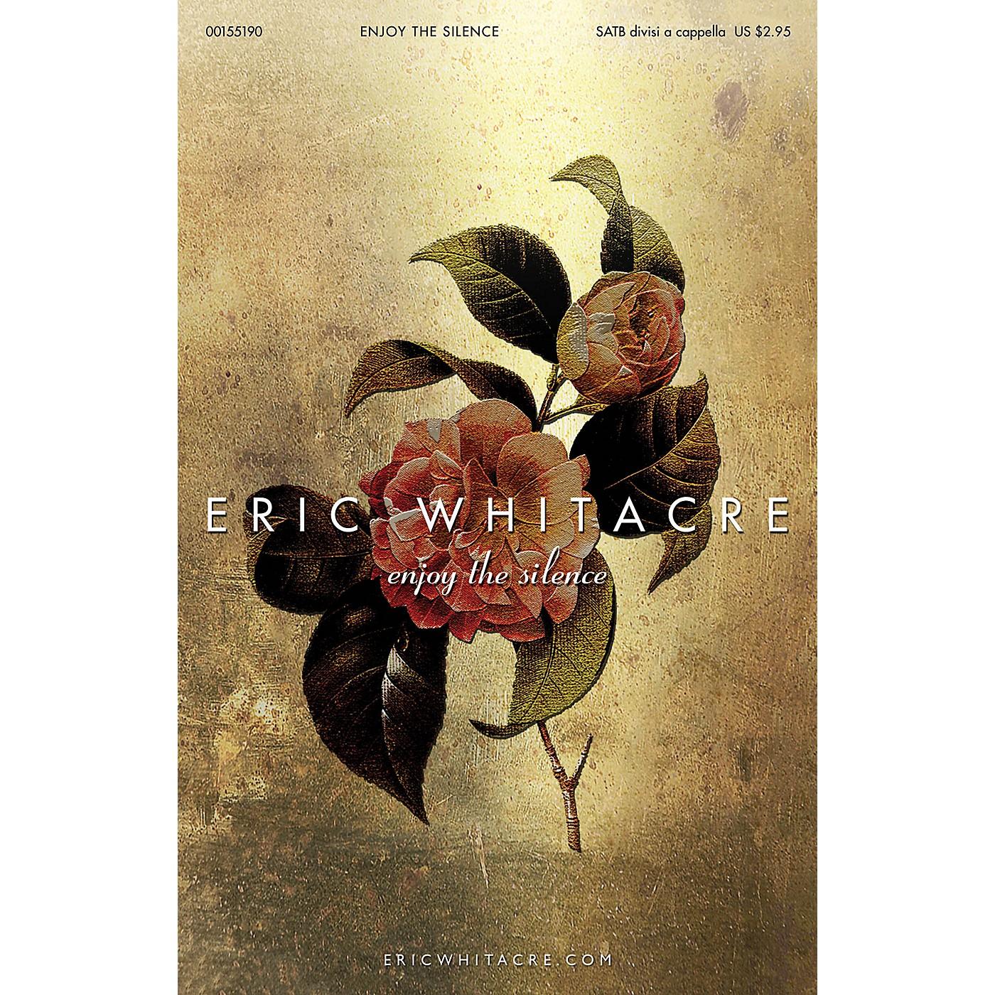 Hal Leonard Enjoy the Silence SATB DV A Cappella arranged by Eric Whitacre thumbnail