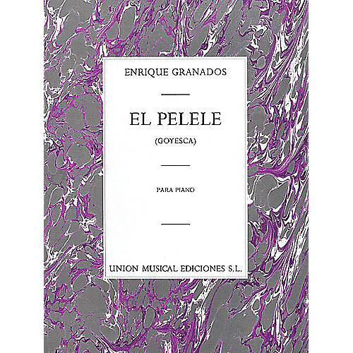 Music Sales Enrique Granados: El Pelele From Goyesca Music Sales America Series thumbnail