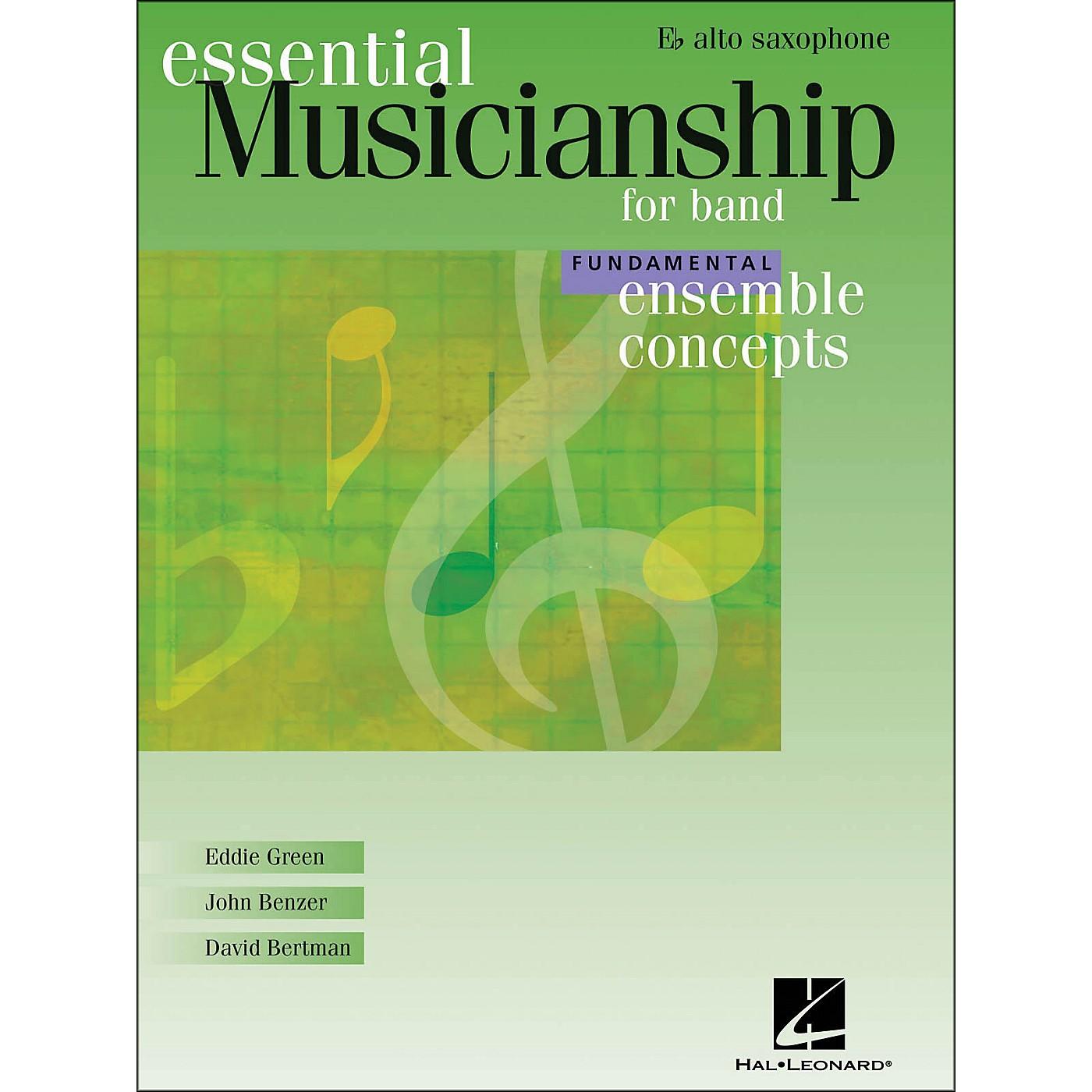 Hal Leonard Ensemble Concepts for Band - Fundamental Level Alto Sax thumbnail