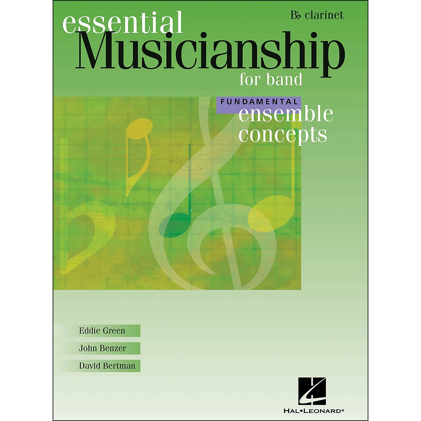 Hal Leonard Ensemble Concepts for Band - Fundamental Level Clarinet thumbnail