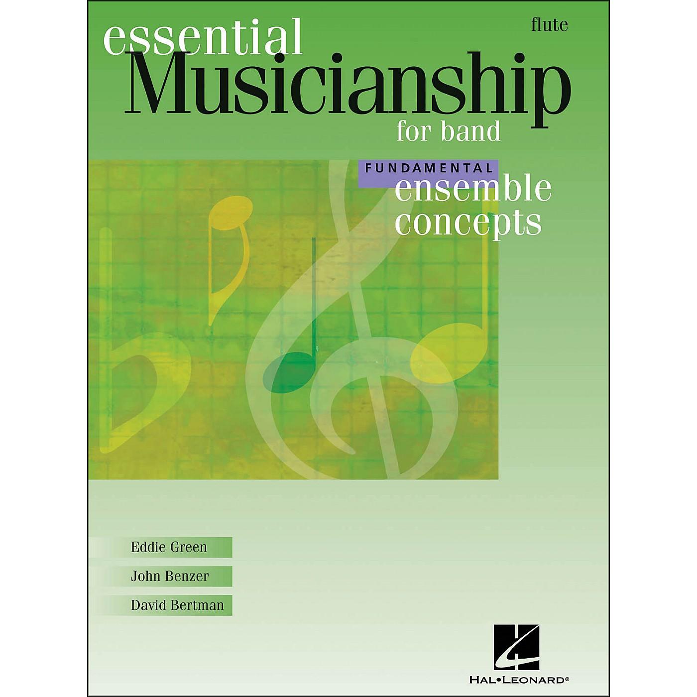 Hal Leonard Ensemble Concepts for Band - Fundamental Level Flute thumbnail