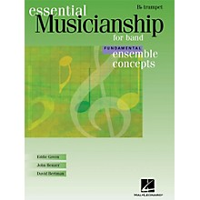 Hal Leonard Ensemble Concepts for Band - Fundamental Level Trumpet