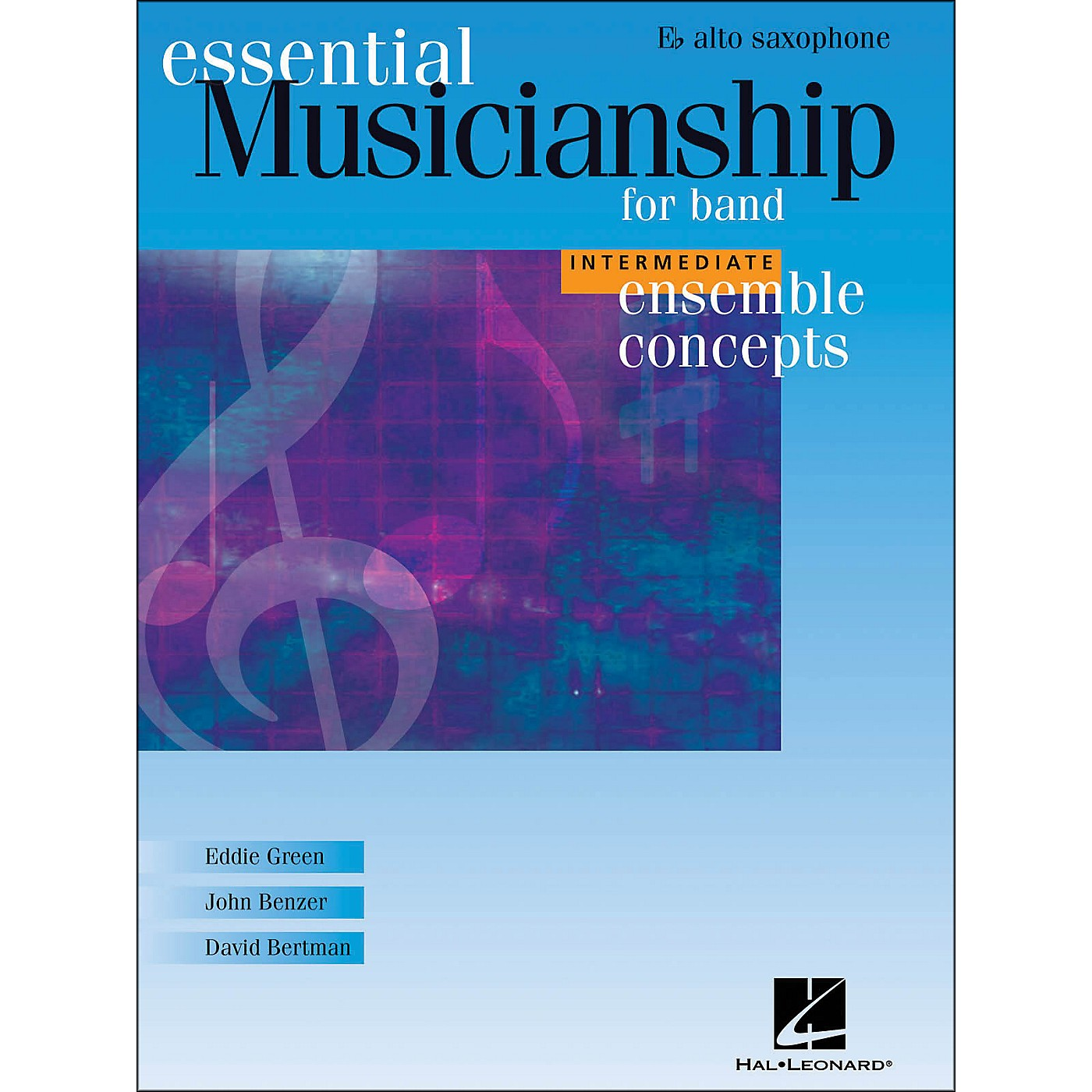 Hal Leonard Ensemble Concepts for Band - Intermediate Level Alto Sax thumbnail