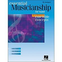 Hal Leonard Ensemble Concepts for Band - Intermediate Level Trumpet