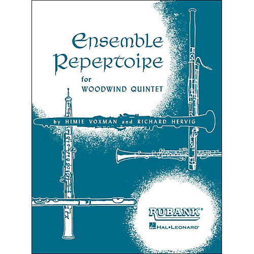 Hal Leonard Ensemble Repertoire for Woodwind Quintet B Flat Clarinet thumbnail