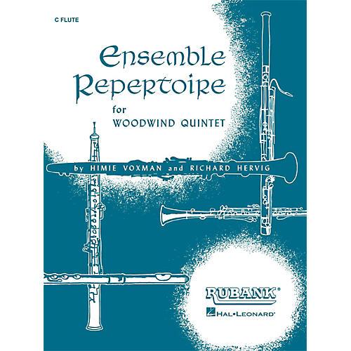 Hal Leonard Ensemble Repertoire for Woodwind Quintet C Flute thumbnail