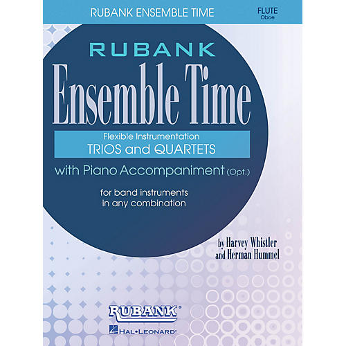 Rubank Publications Ensemble Time - C Flutes (Oboe) (for Instrumental Trio or Quartet Playing) Ensemble Collection Series thumbnail