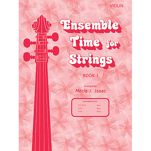 Alfred Ensemble Time for Strings Book 1 Violin thumbnail
