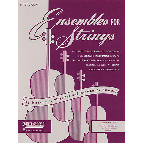 Rubank Publications Ensembles For Strings - Third Violin Ensemble Collection Series Arranged by Harvey S. Whistler thumbnail