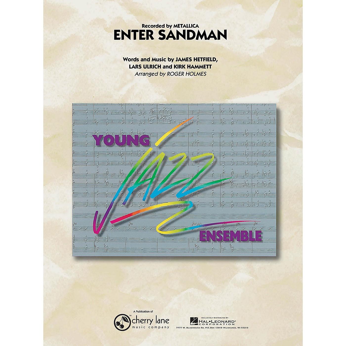Cherry Lane Enter Sandman Jazz Band Level 3 Arranged by Roger Holmes thumbnail