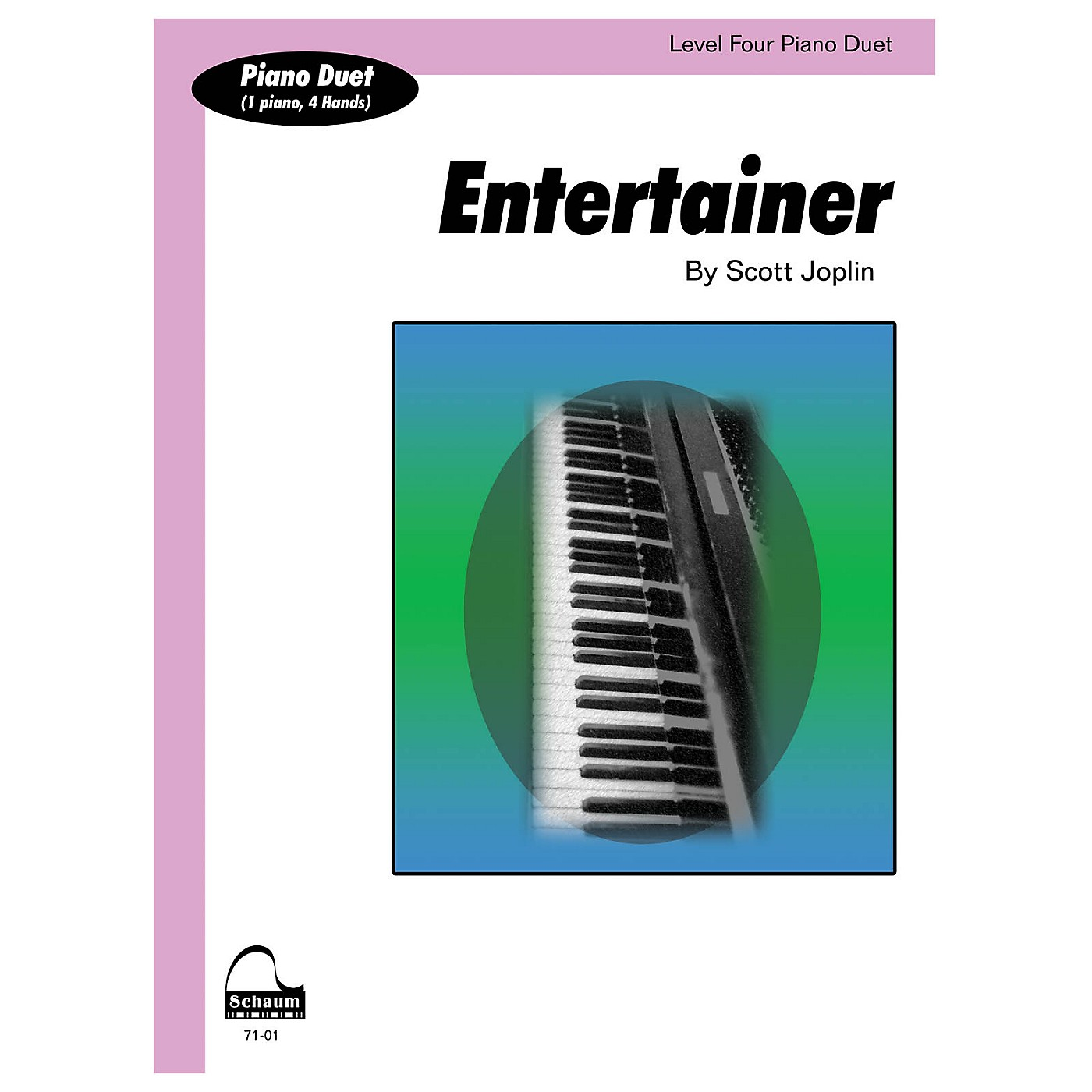 SCHAUM Entertainer (duet) Educational Piano Series Softcover thumbnail
