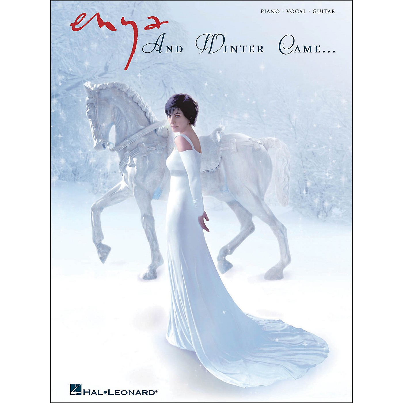 Hal Leonard Enya - And Winter Came arranged for piano, vocal, and guitar (P/V/G) thumbnail