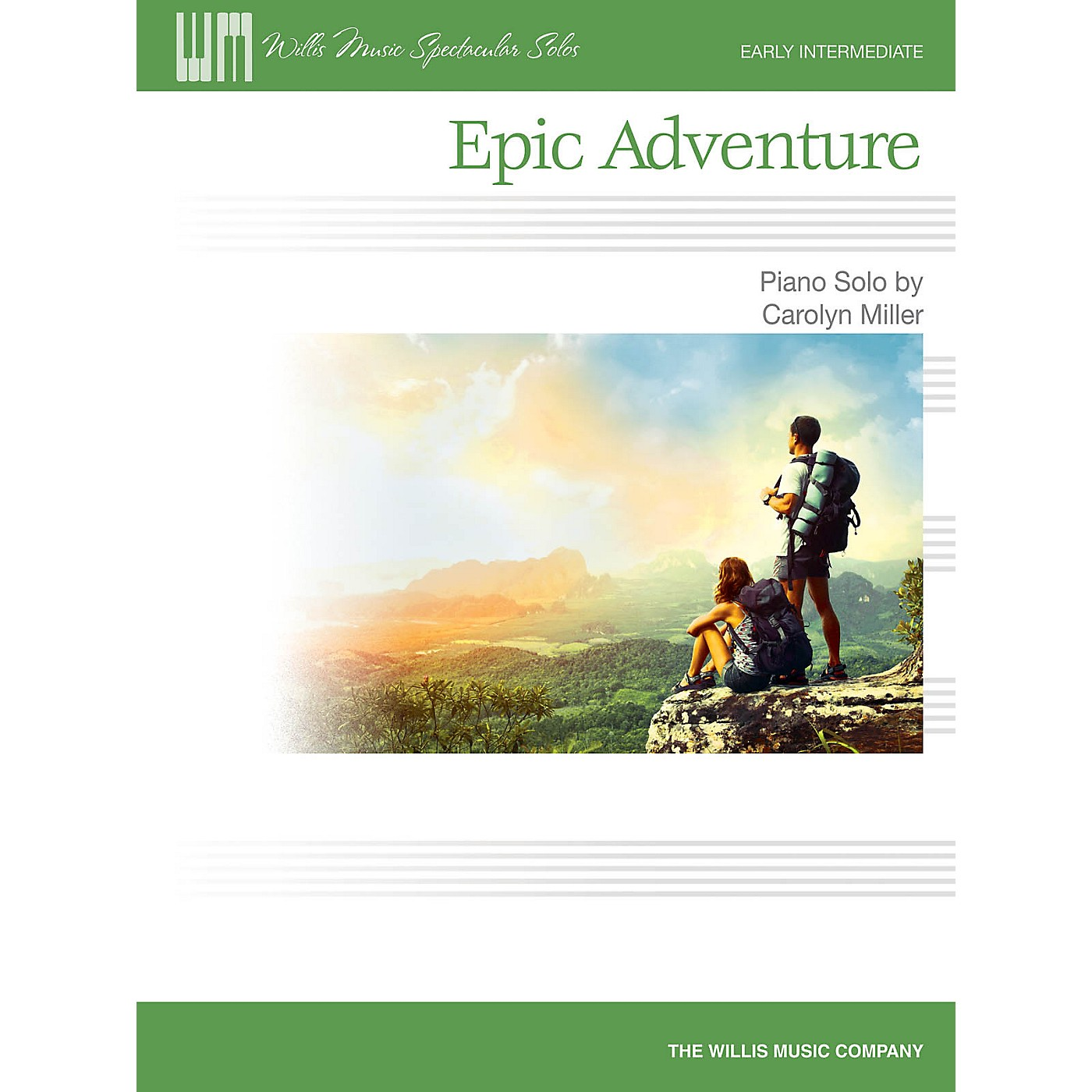 Willis Music Epic Adventure (Early Inter Level) Willis Series Book by Carolyn Miller thumbnail