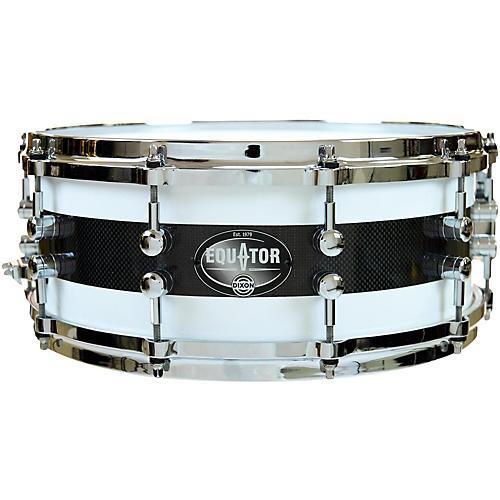 Dixon Equator Series Maple/Carbon Fiber Snare Drum thumbnail