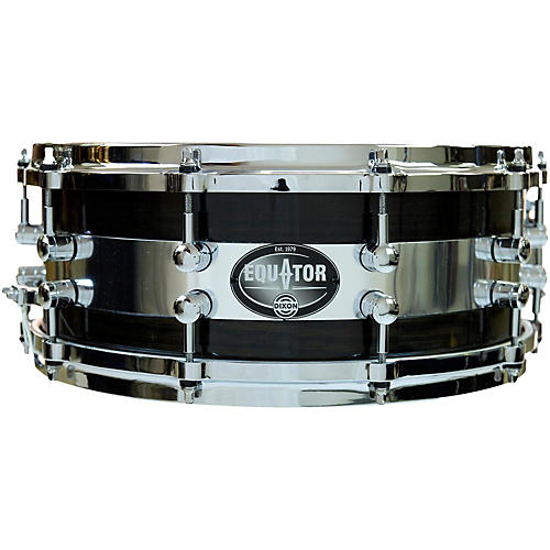 Dixon Equator Series Oak/Steel Snare Drum thumbnail
