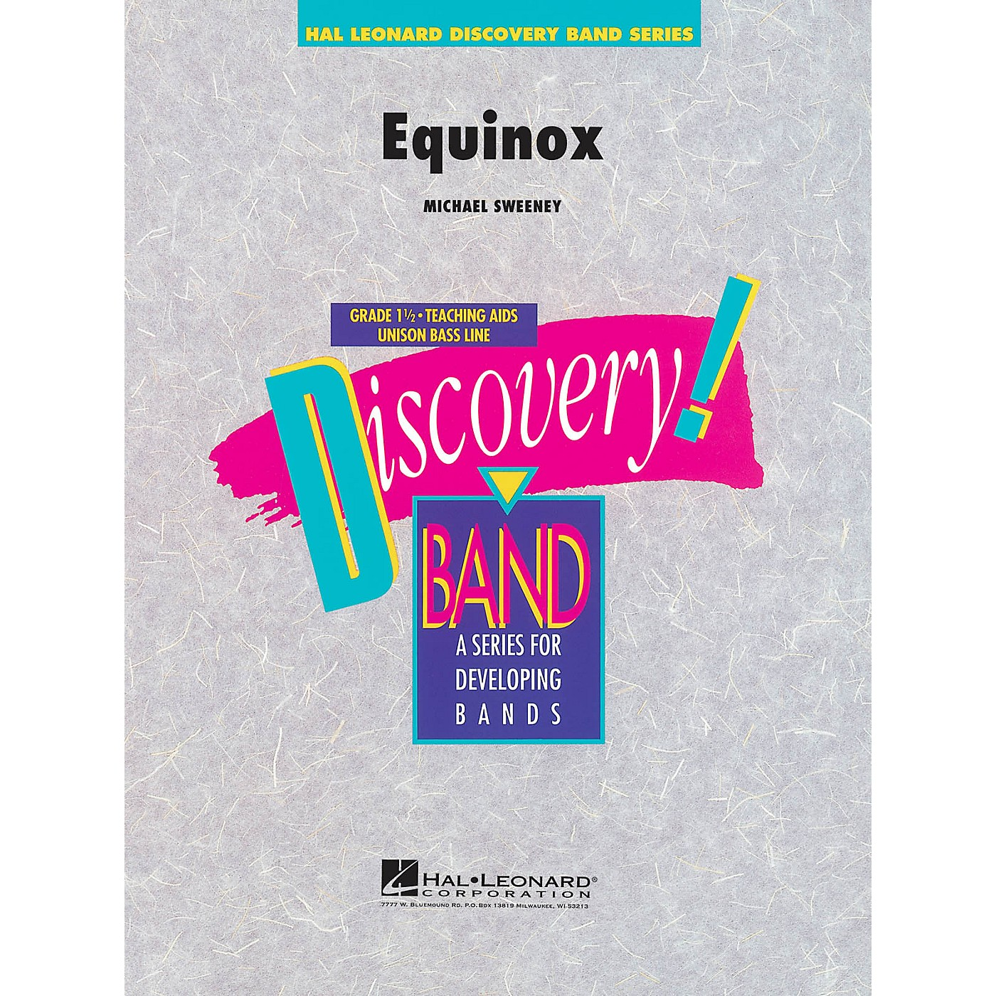 Hal Leonard Equinox Concert Band Level 1.5 Composed by Michael Sweeney thumbnail