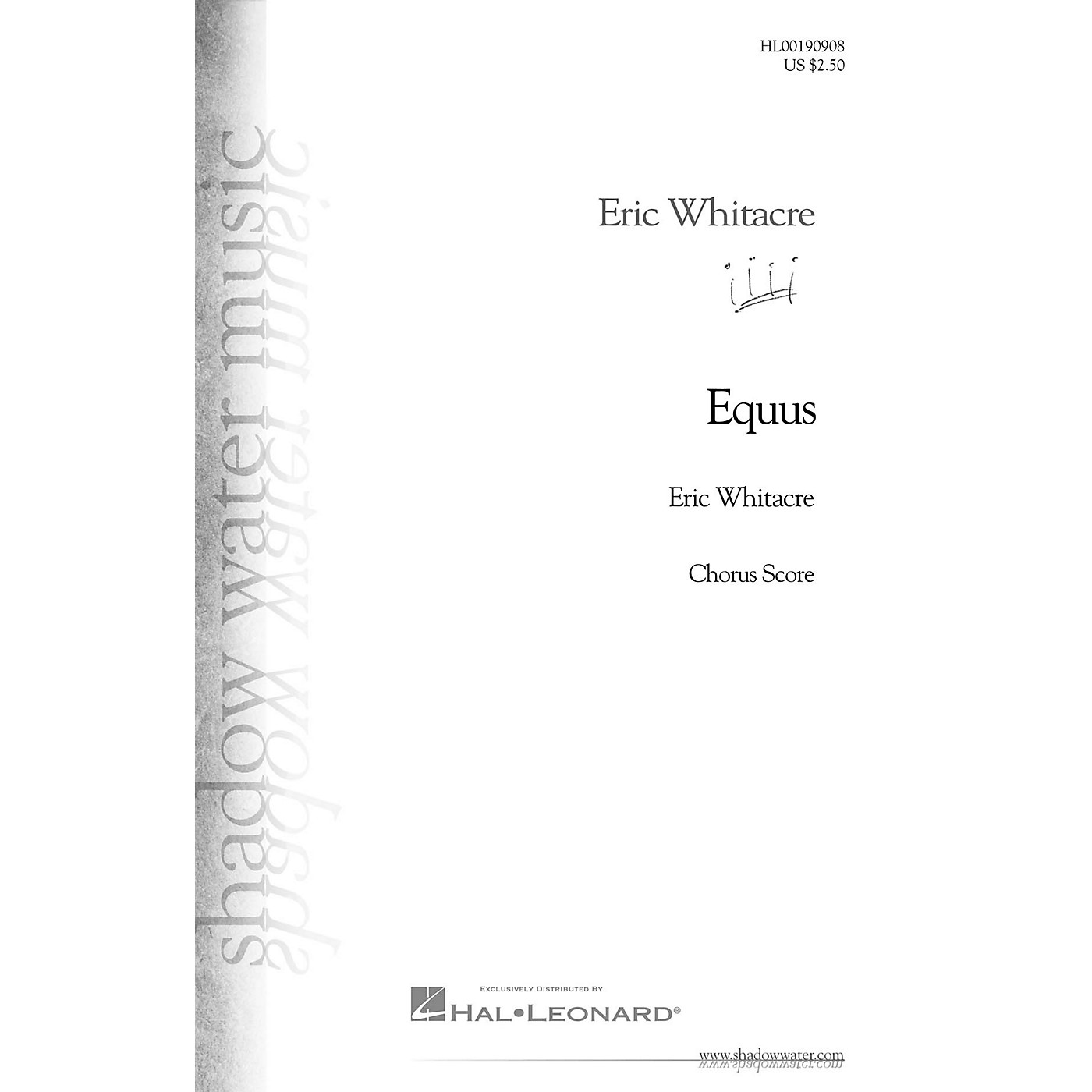 Hal Leonard Equus (SATB 40 Pack) SATB SET OF 40 OCTAVOS Composed by Eric Whitacre thumbnail